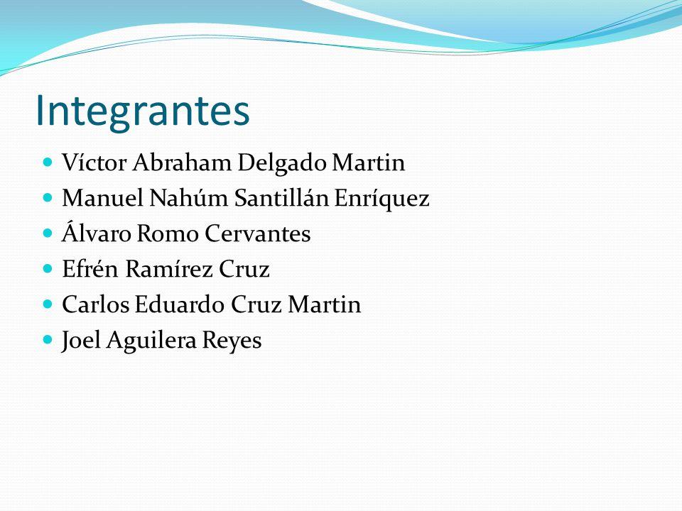Integrantes Víctor Abraham Delgado Martin