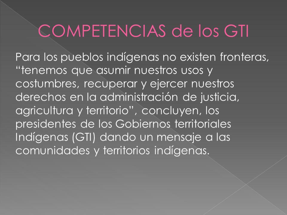 COMPETENCIAS de los GTI