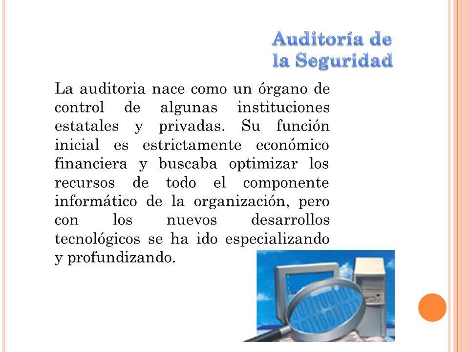 Auditoría de la Seguridad