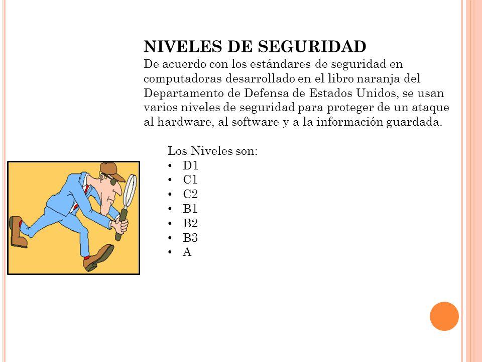 NIVELES DE SEGURIDAD