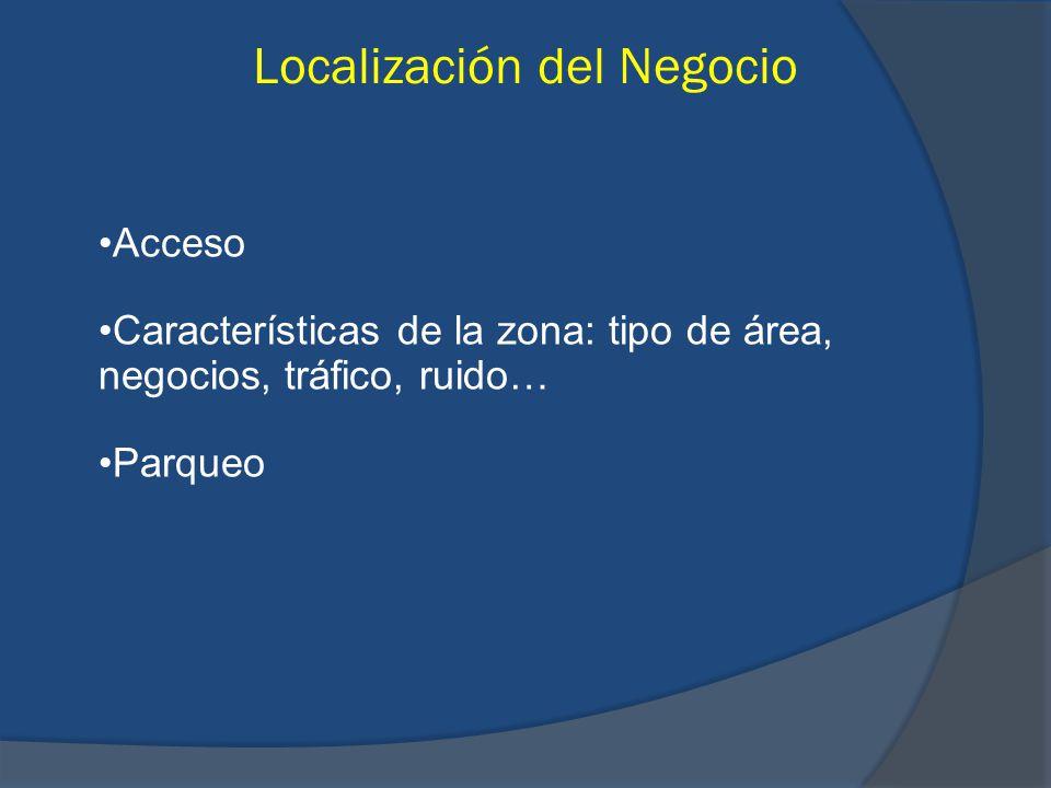 Localización del Negocio