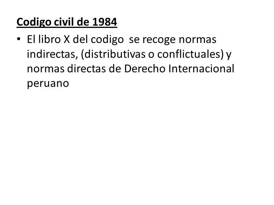 Codigo civil de 1984