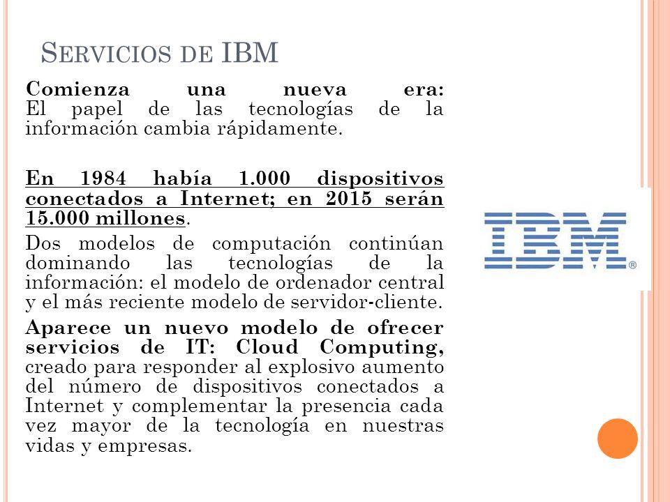 Servicios de IBM