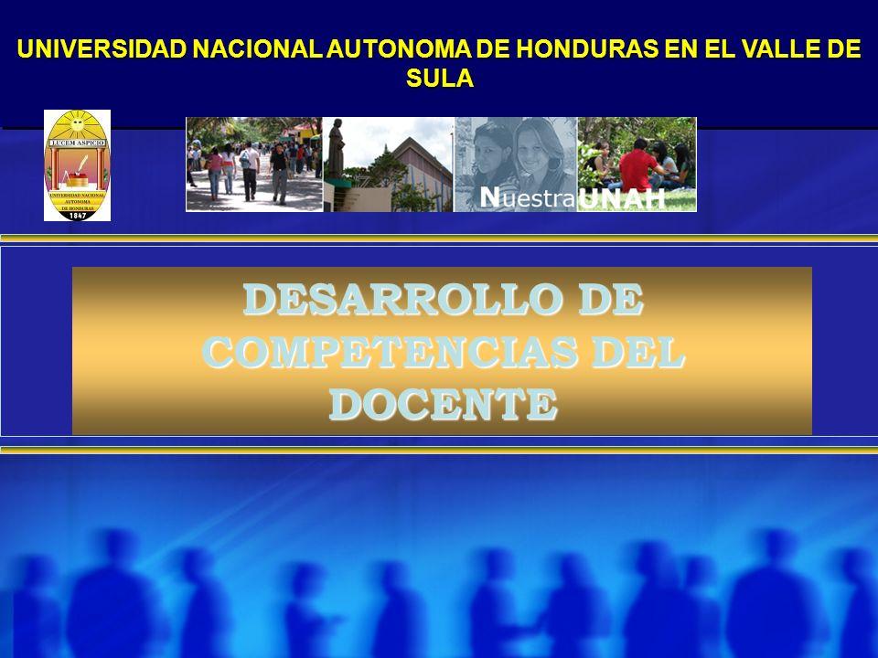 DESARROLLO DE COMPETENCIAS DEL DOCENTE