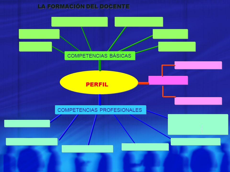 PERFIL LA FORMACIÓN DEL DOCENTE COMPETENCIAS BÁSICAS