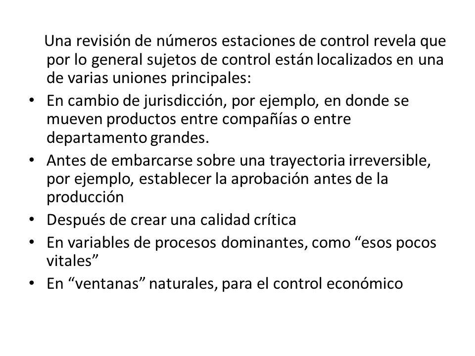 Una revisión de números estaciones de control revela que por lo general sujetos de control están localizados en una de varias uniones principales: