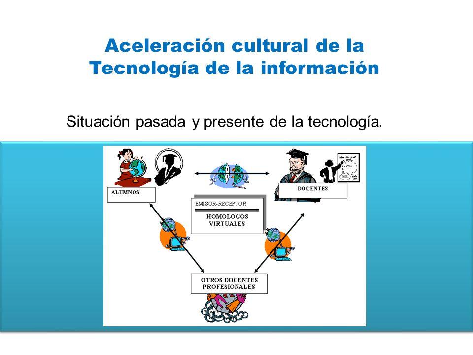 Aceleración cultural de la Tecnología de la información
