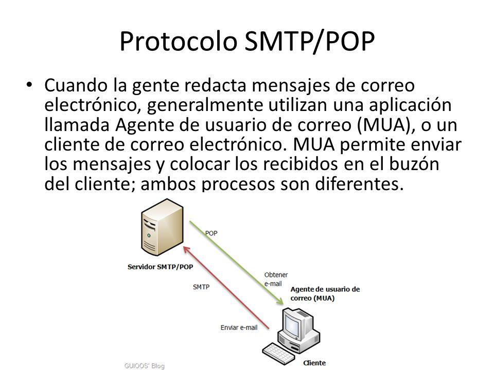 Protocolo SMTP/POP