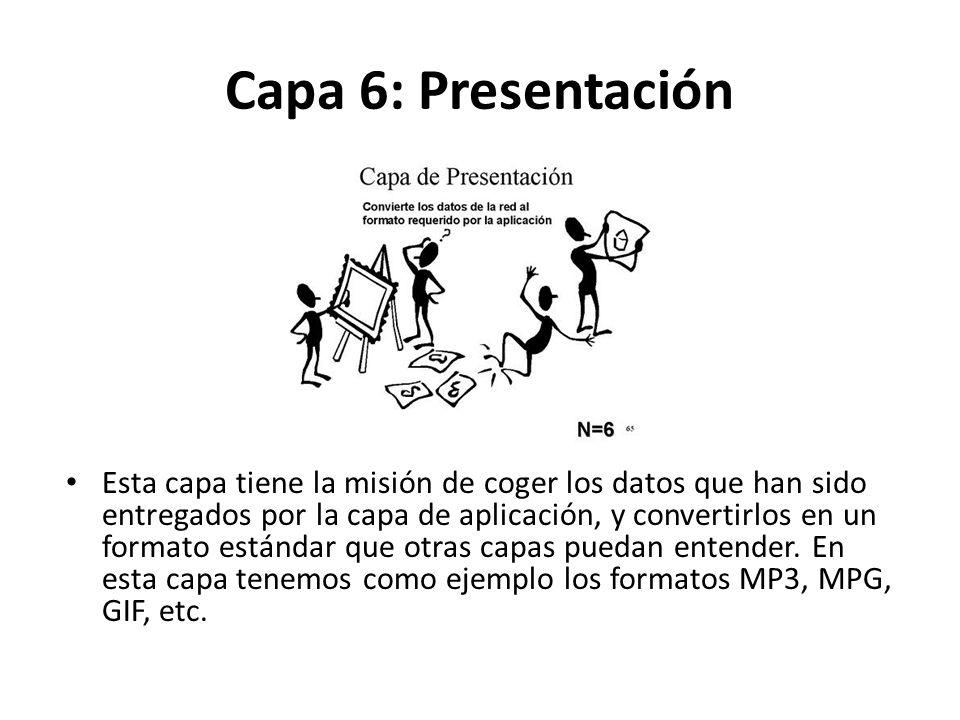 Capa 6: Presentación