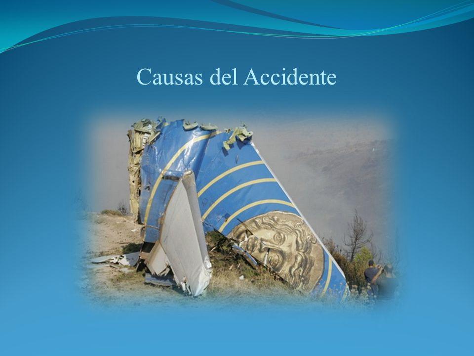Causas del Accidente