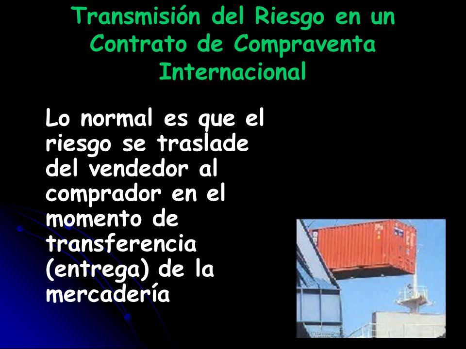 Transmisión del Riesgo en un Contrato de Compraventa Internacional