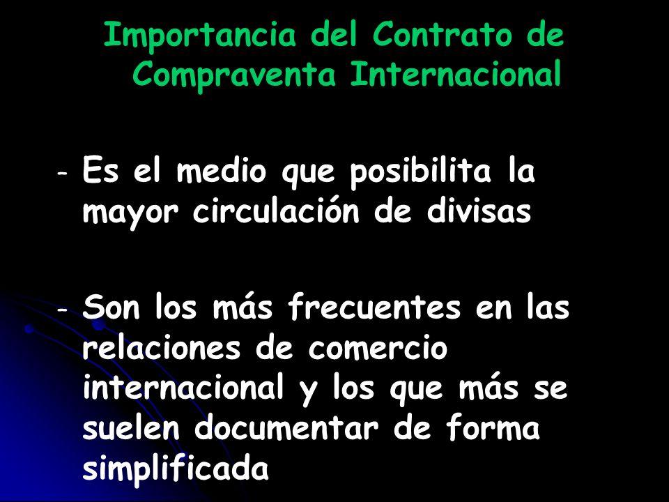 Importancia del Contrato de Compraventa Internacional
