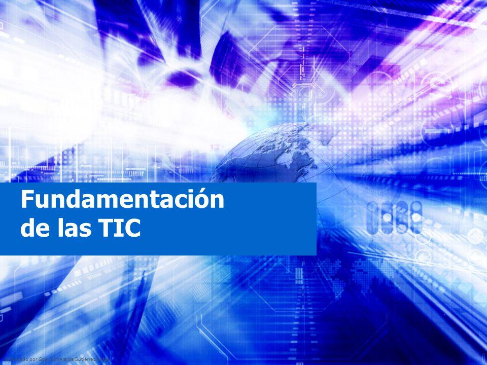 Fundamentación de las TIC