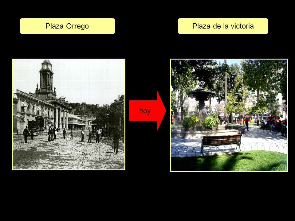 Plaza Orrego Plaza de la victoria hoy