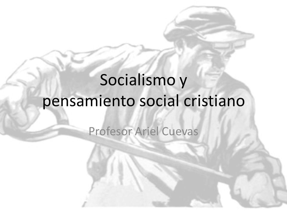 Socialismo y pensamiento social cristiano