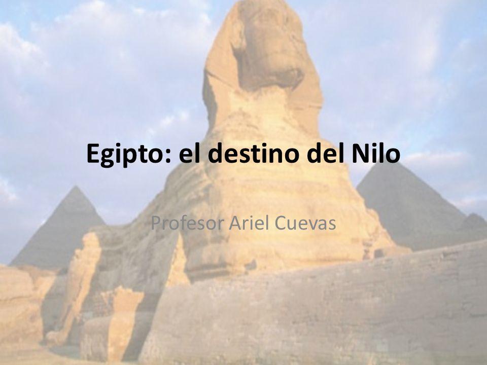 Egipto: el destino del Nilo