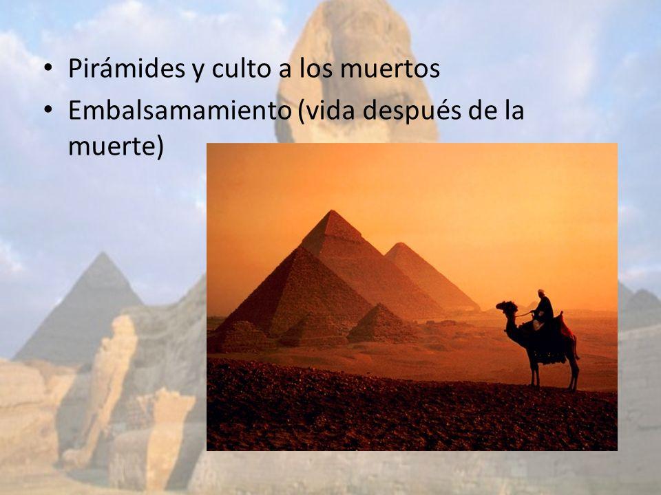 Pirámides y culto a los muertos
