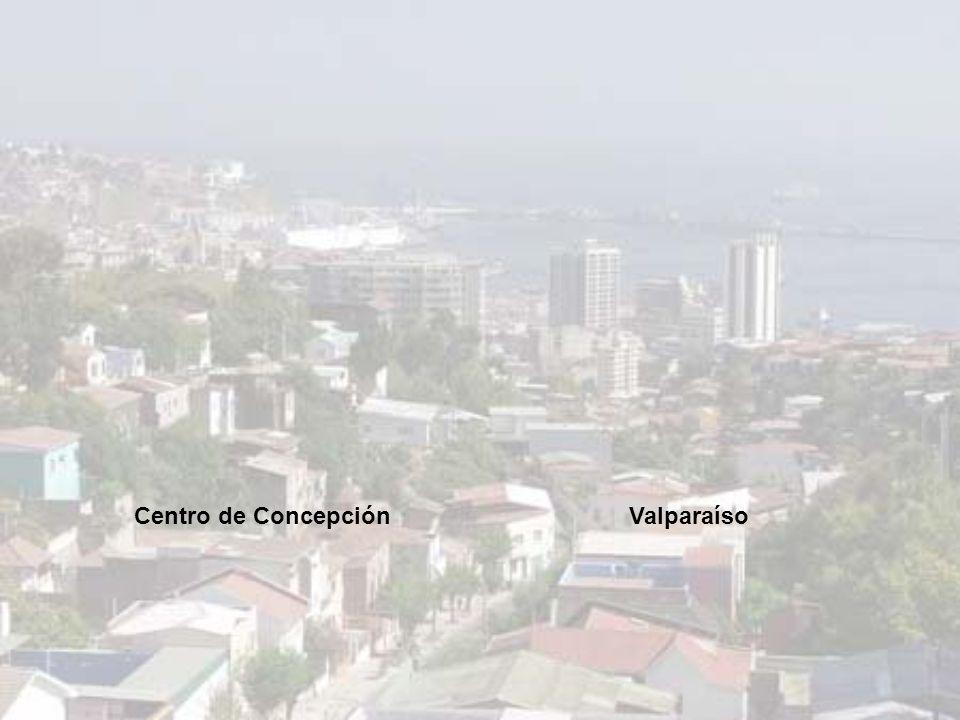 Centro de Concepción Valparaíso