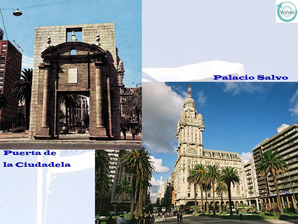 Palacio Salvo Puerta de la Ciudadela