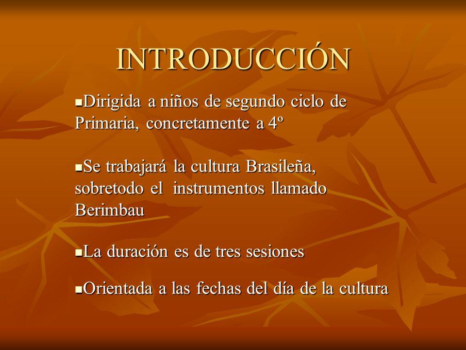INTRODUCCIÓN Dirigida a niños de segundo ciclo de Primaria, concretamente a 4º.
