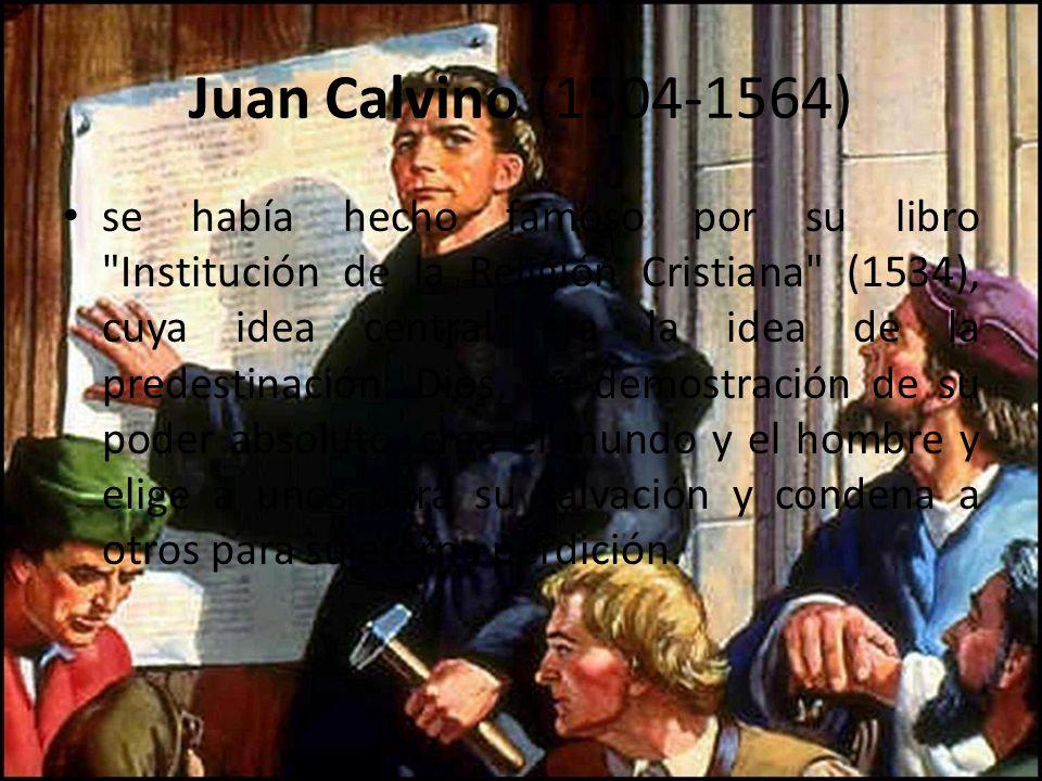 Juan Calvino (1504-1564)