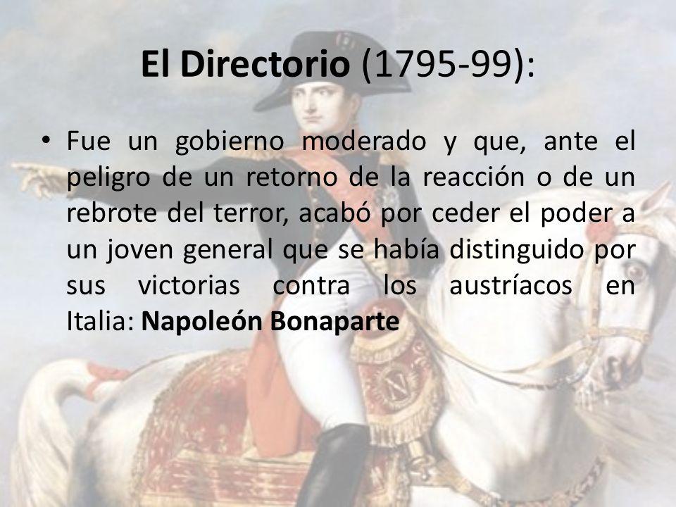 El Directorio (1795-99):