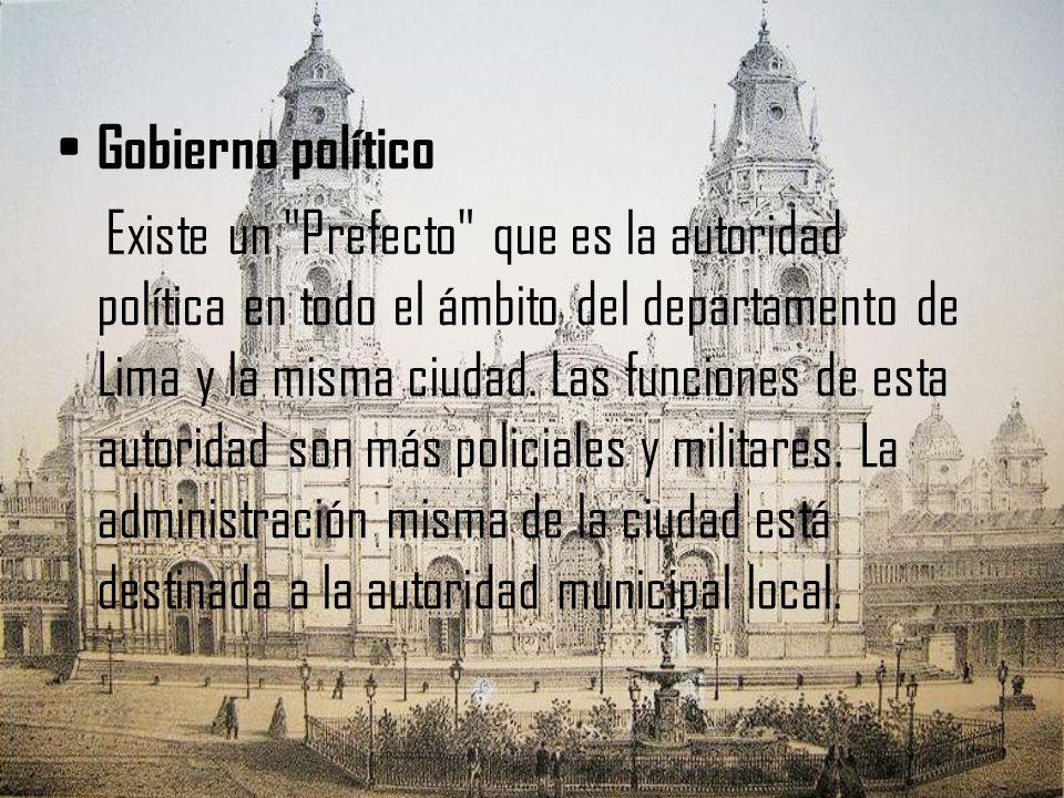 Gobierno político