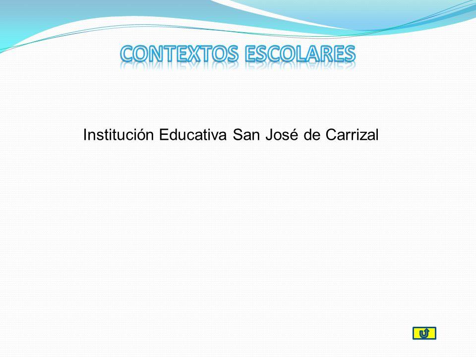 CONTEXTOS ESCOLARES Institución Educativa San José de Carrizal
