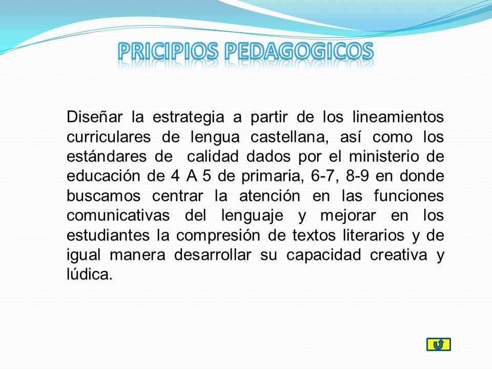 PRICIPIOS PEDAGOGICOS