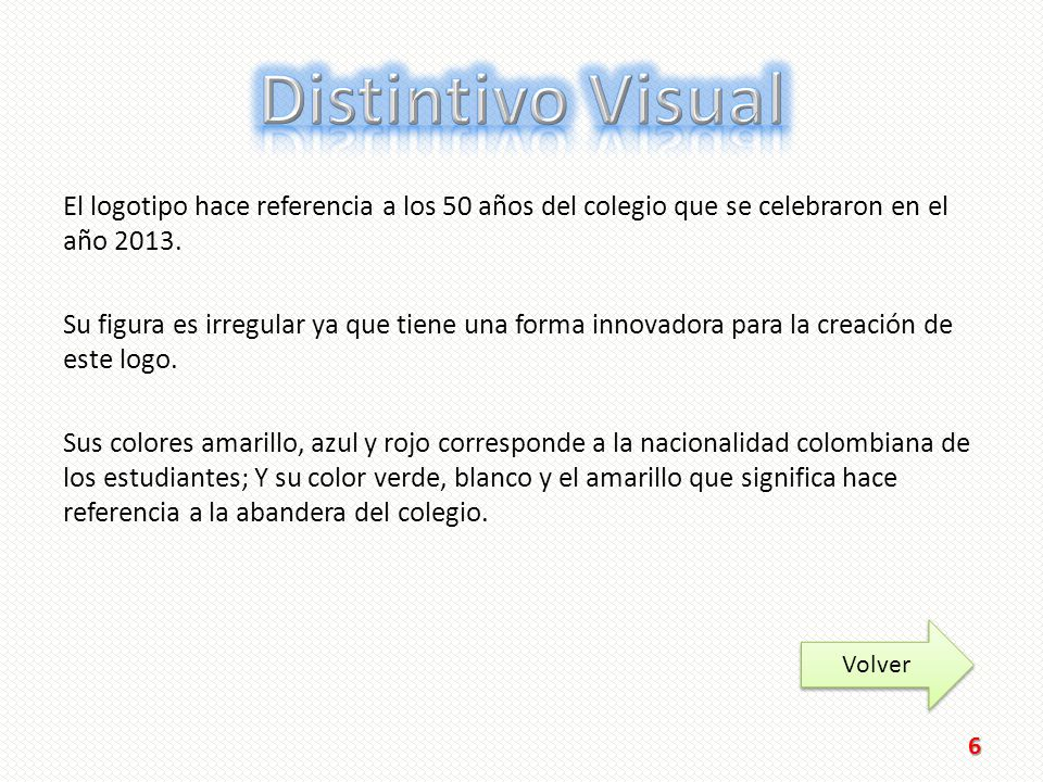 Distintivo Visual