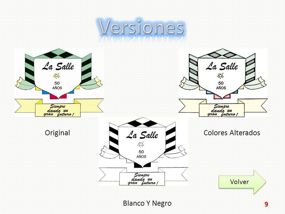 Versiones Original Colores Alterados Volver Blanco Y Negro