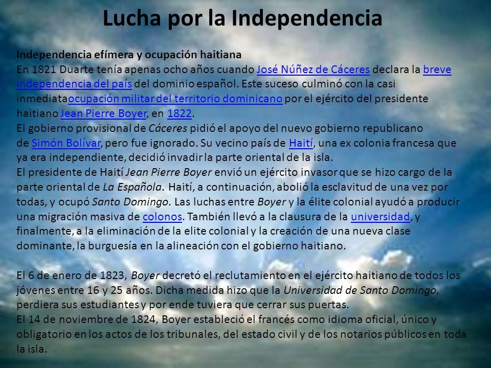 Lucha por la Independencia