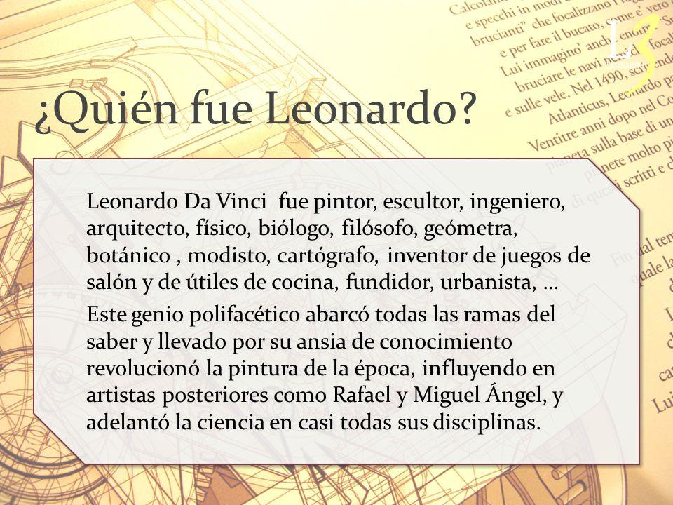 ¿Quién fue Leonardo