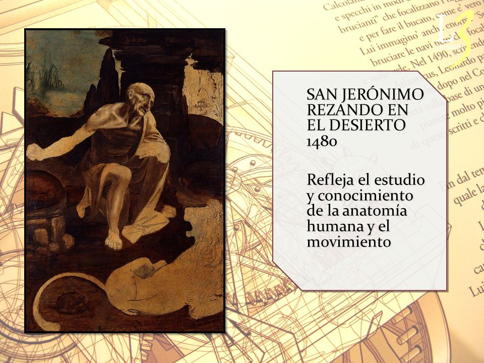 SAN JERÓNIMO REZANDO EN EL DESIERTO 1480