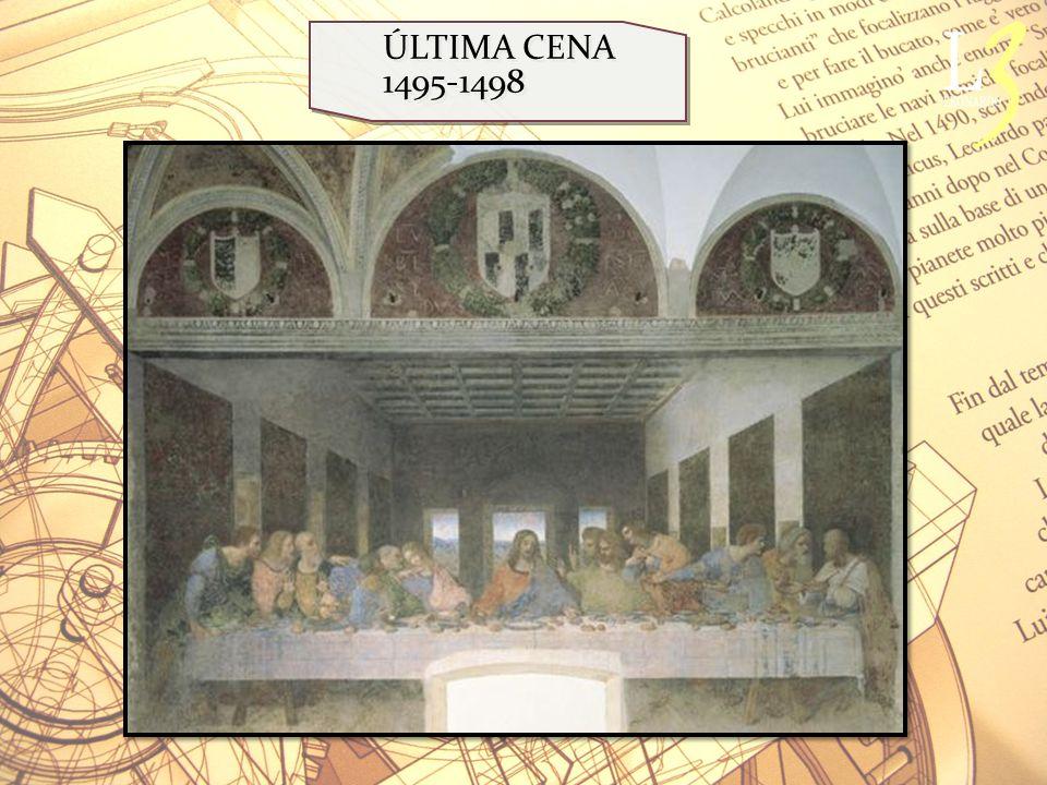 ÚLTIMA CENA 1495-1498
