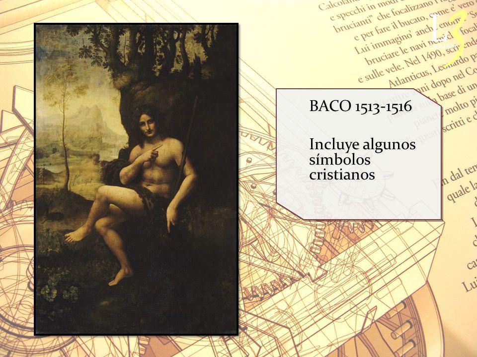 BACO 1513-1516 Incluye algunos símbolos cristianos