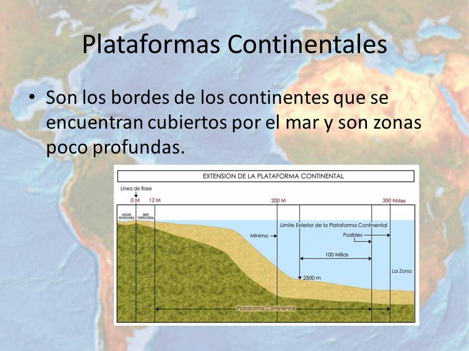 Plataformas Continentales