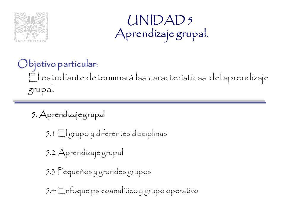 UNIDAD 5 Aprendizaje grupal.