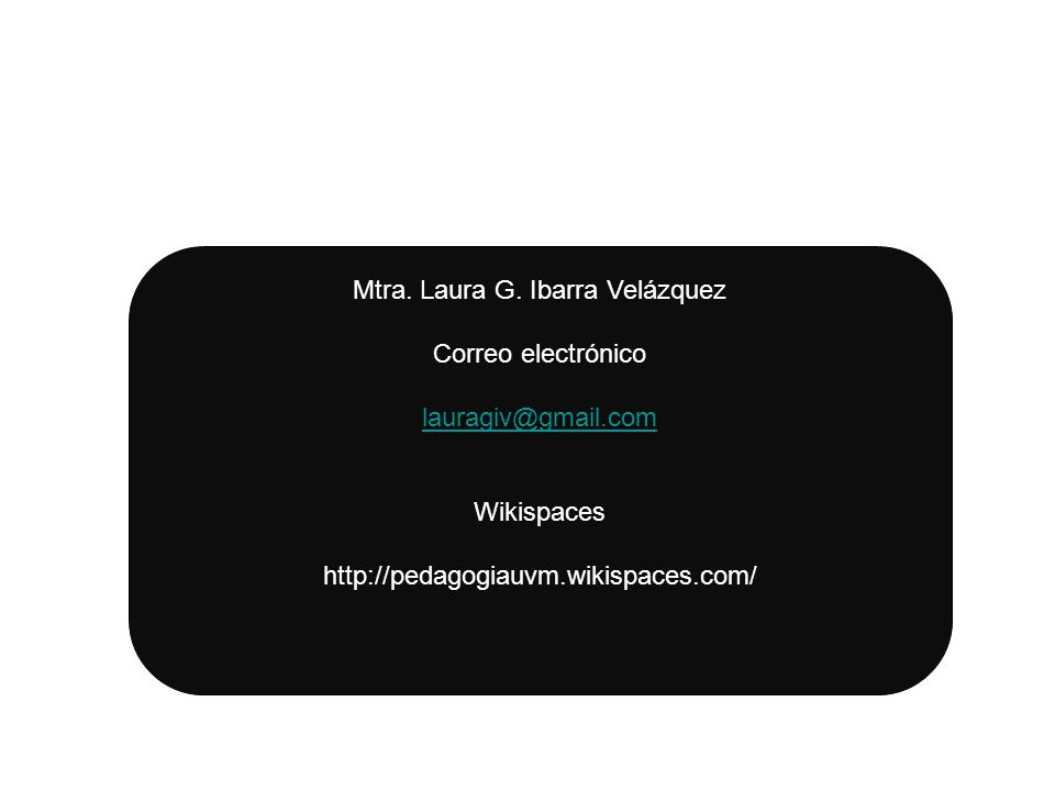 Mtra. Laura G. Ibarra Velázquez