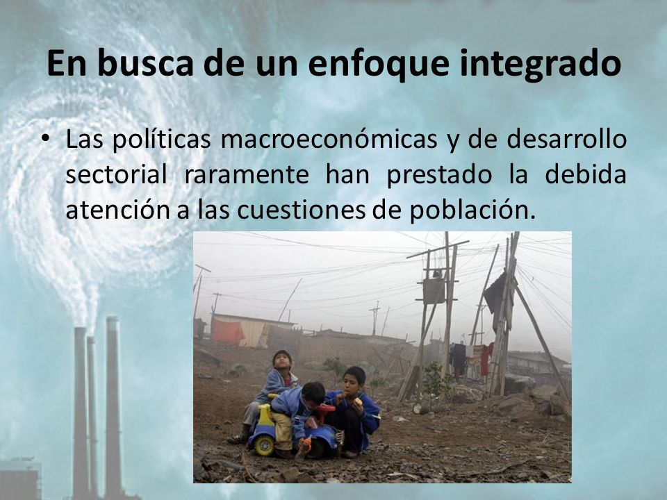 En busca de un enfoque integrado