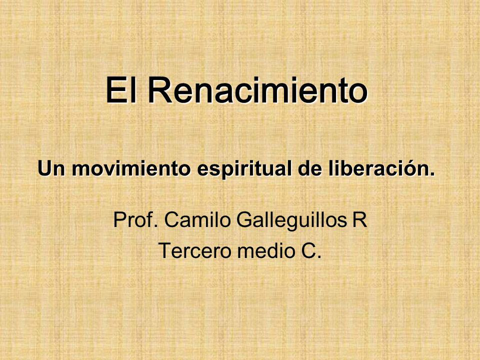 El Renacimiento Un movimiento espiritual de liberación.