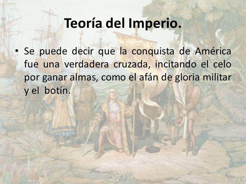 Teoría del Imperio.