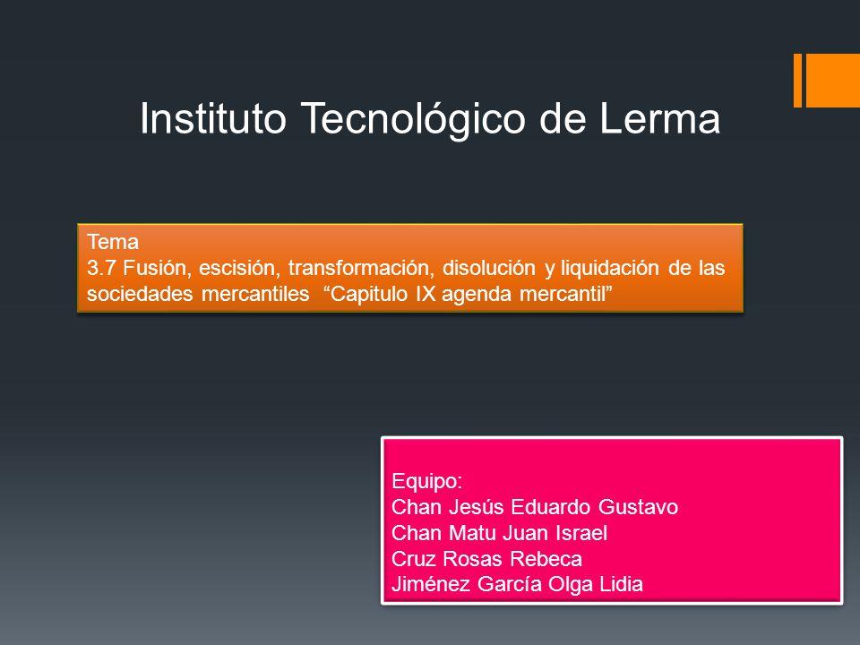 Instituto Tecnológico de Lerma