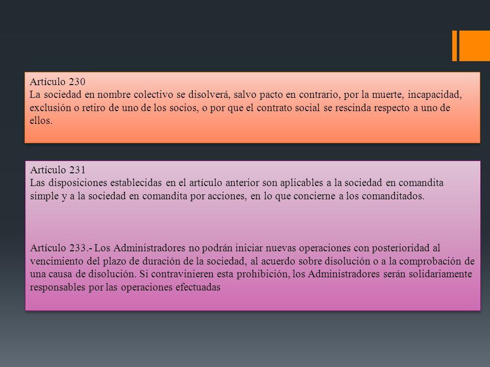 Artículo 230