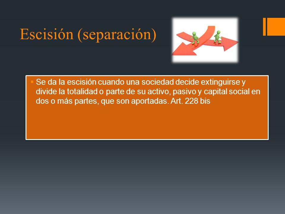 Escisión (separación)