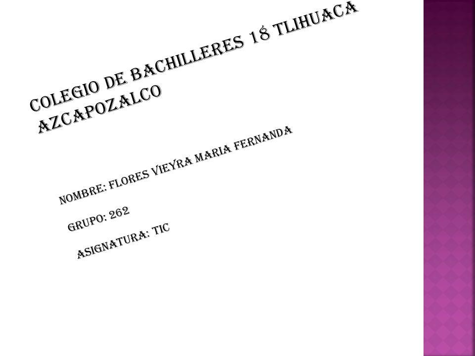 Colegio de bachilleres 18 tlihuaca azcapozalco