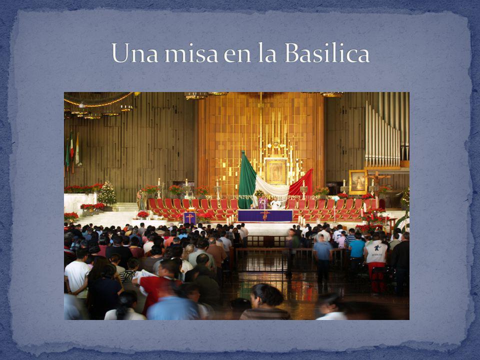 Una misa en la Basilica