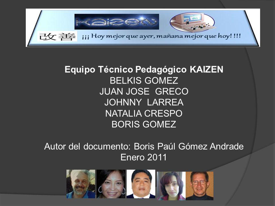 Equipo Técnico Pedagógico KAIZEN