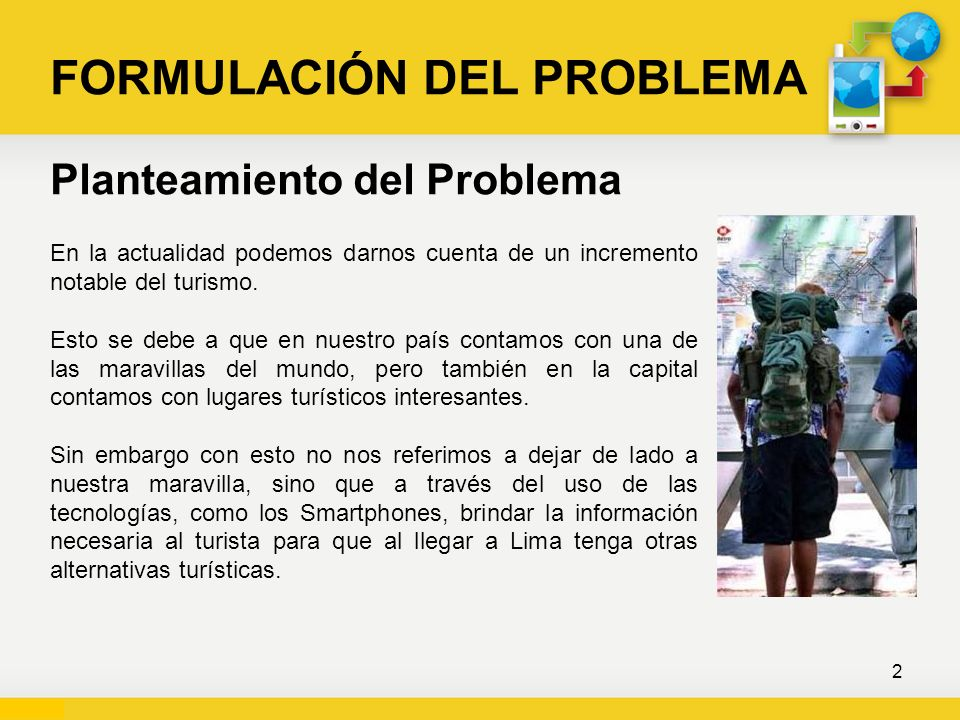 FORMULACIÓN DEL PROBLEMA