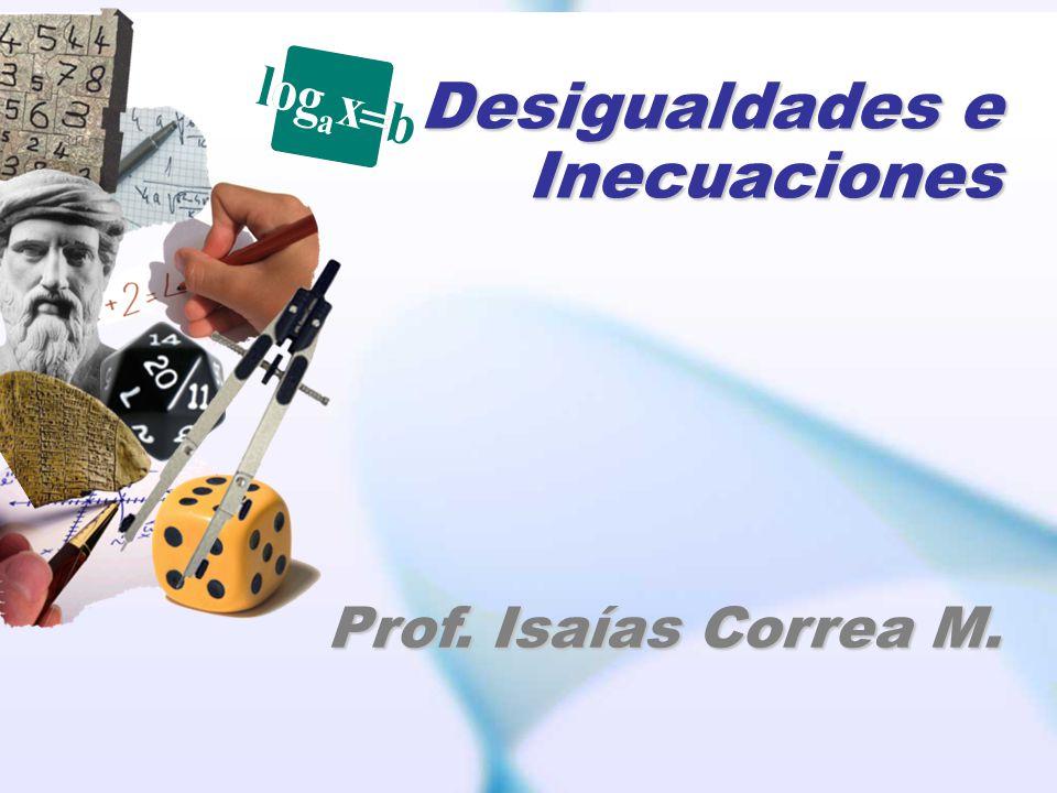 Desigualdades e Inecuaciones
